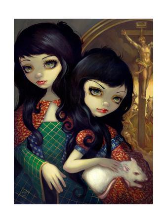 I Vampiri: La Sorelle Photographic Print by Jasmine Becket-Griffith
