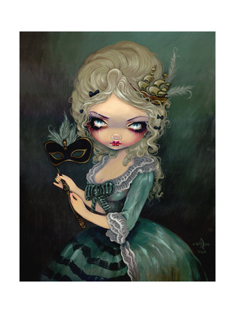 Marie Masquerade Posters by Jasmine Becket-Griffith