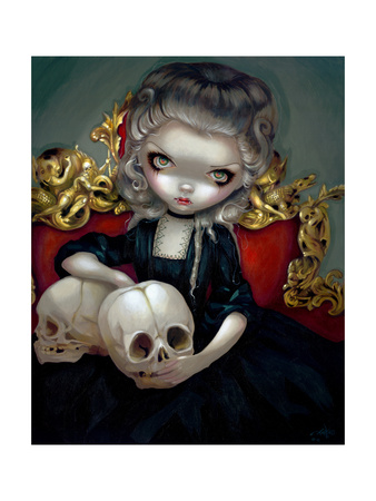 Les Vampires: Les Cranes Posters by Jasmine Becket-Griffith