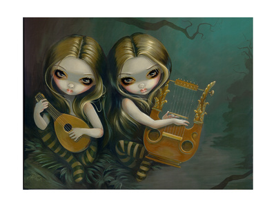 Lute and Lyre Prints by Jasmine Becket-Griffith