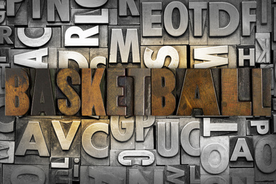 Basketball Photographic Print by  enterlinedesign
