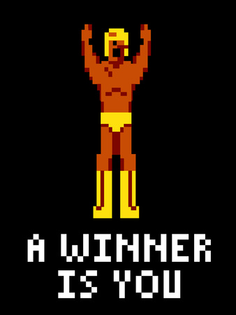 A Winner Is You Video Game Poster Prints