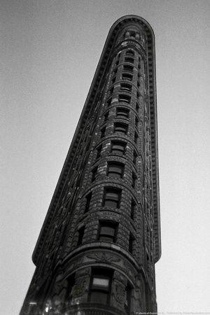 Flatiron Building From Below NYC Photo