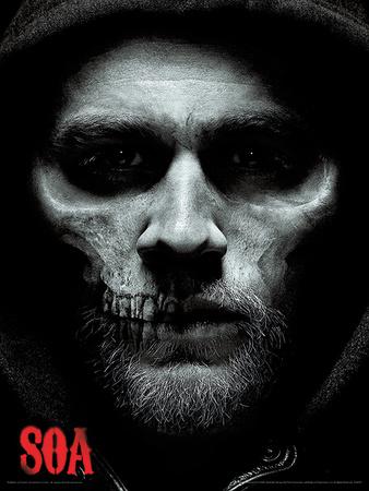 Sons of Anarchy - Jax Skull Masterprint