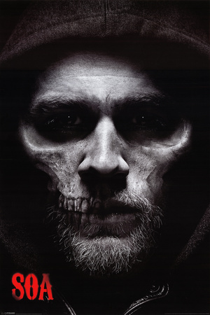 Sons of Anarchy - Jax Skull Posters