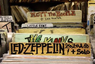 Bleeker Street Record Shop NYC Photo