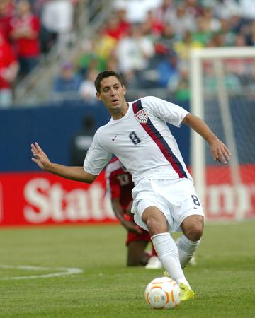 2007 CONCACAF Gold Cup Semifinals: Jun 21, Canada vs USA - Clint Dempsey Photo