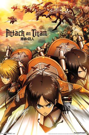 Attack on Titan - Attack!, Attack on Titan poster artwork merchandise