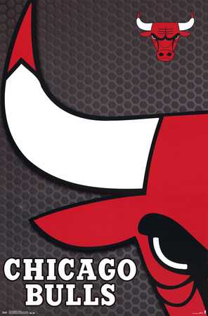 Chicago Bulls - Logo 14 Posters
