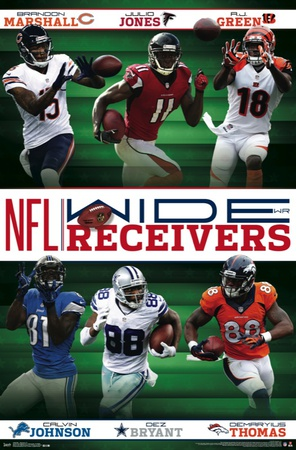 NFL- Receivers 14 Prints