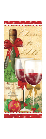 Holiday Cheers I Prints