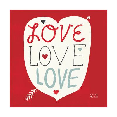 Love Love Love Square Posters