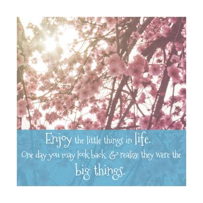 Big Things Blossom Print by Ashley Hutchins
