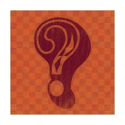 Question Print by Ashley Hutchins