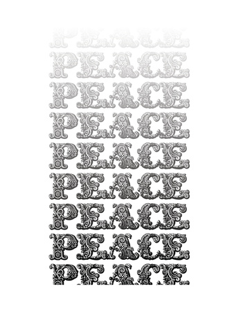 Peace Typle Posters by Ashley Hutchins