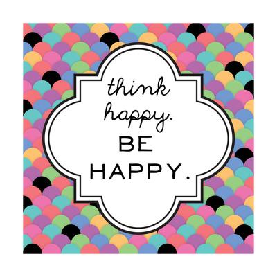 Happy Print by Ashley Hutchins