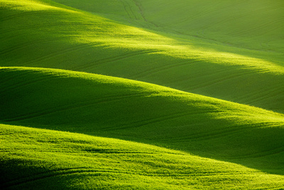 Rolling Green Hills Photographic Print by  ZoomTeam
