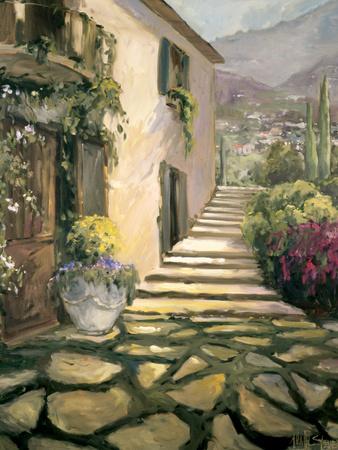 Italian Villa I Prints by Allayn Stevens