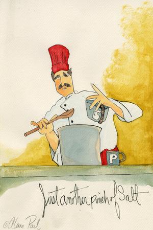 Pinch Of Salt Prints by Alan Siegel