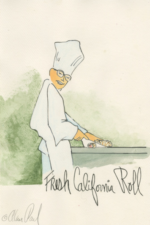 Sushi Posters by Alan Siegel