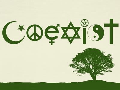 Coexist Natural Posters