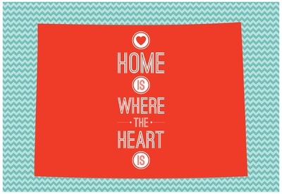 Home Is Where The Heart Is - Colorado Photo