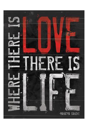 Love Life Prints by Jace Grey