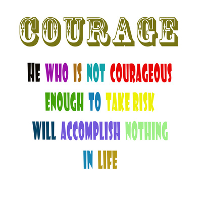 Courage Art by Sheldon Lewis