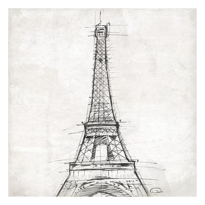 Eiffel Close Prints by  OnRei