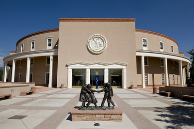 New Mexico State Capital. Photographic Print by William Scott