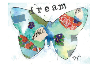 Dream Butterfly Posters by Beverly Dyer