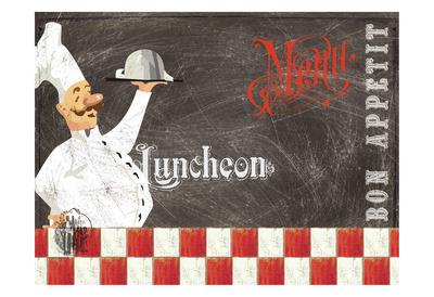Lunch Posters by Elizabeth Jordan