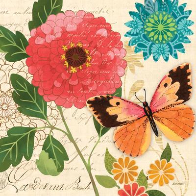 Butterfly Ballad III Prints by Jennifer Brinley
