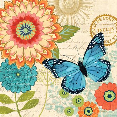 Butterfly Ballad I Prints by Jennifer Brinley