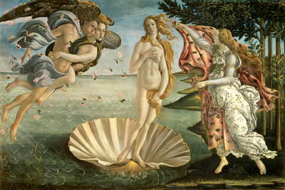 Birth of Venus Posters by Botticelli
