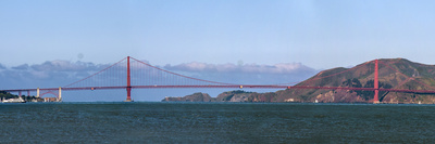 Golden Gate Bridge, San Francisco, CAlifornia Photographic Print by Anna Miller