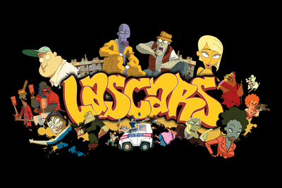 Lascars – Round Da Way Logo Posters