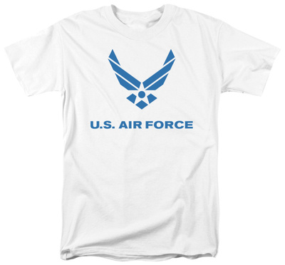 Air Force - Distressed Logo T-shirts