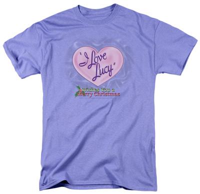 I Love Lucy - Christmas Logo T-shirts