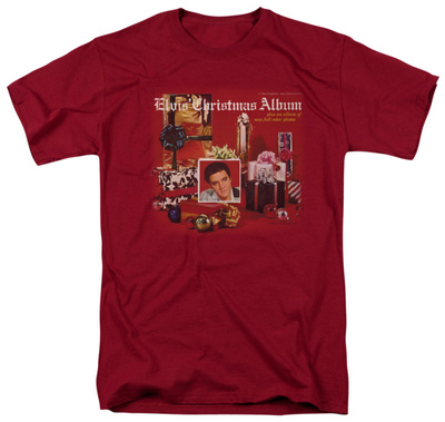 Elvis Presley - Christmas Album T-shirts