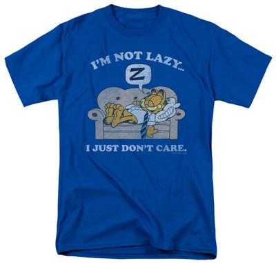 Garfield - Not Lazy T-shirts