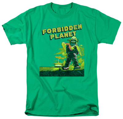 Forbidden Planet - Old Poster Shirts
