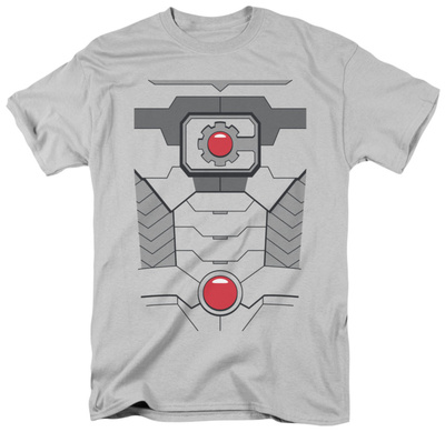 Justice League - Cyborg Costume Tee T-shirts