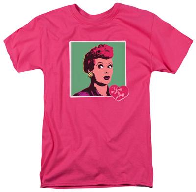 I Love Lucy - I Love Worhol Shirt