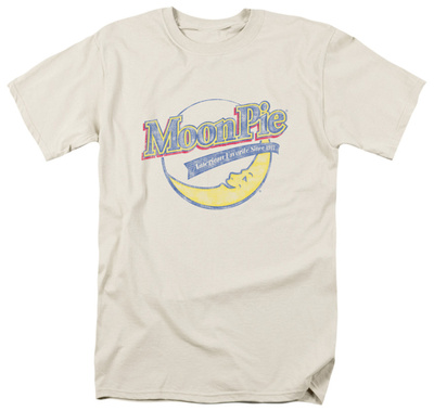 Moon Pie - Distressed Retro Logo T-shirts