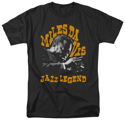 Miles Davis - Jazz Legend T-shirts