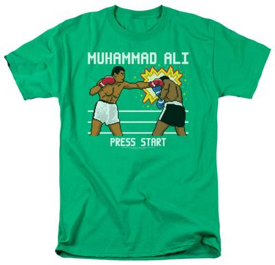 8-bit Muhammad Ali boxing t-shirt