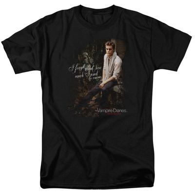 The Vampire Diaries - I Used To Care T-shirts