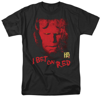 Hellboy II - I Bet On Red T-Shirt