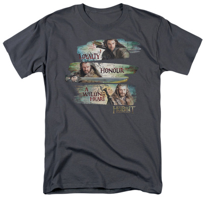 The Hobbit: An Unexpected Journey - Loyalty And Honour T-Shirt